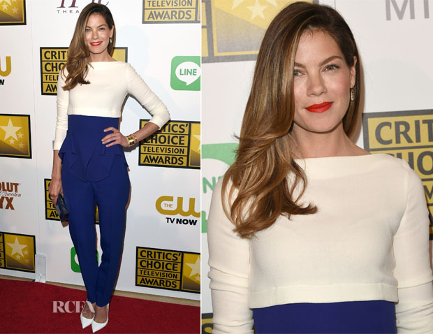 Michelle Monaghan In Antonio Berardi - 2014 Critics' Choice Television Awards