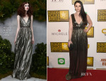 Michelle Trachtenberg In Alice + Olivia - 2014 Critics' Choice Television Awards
