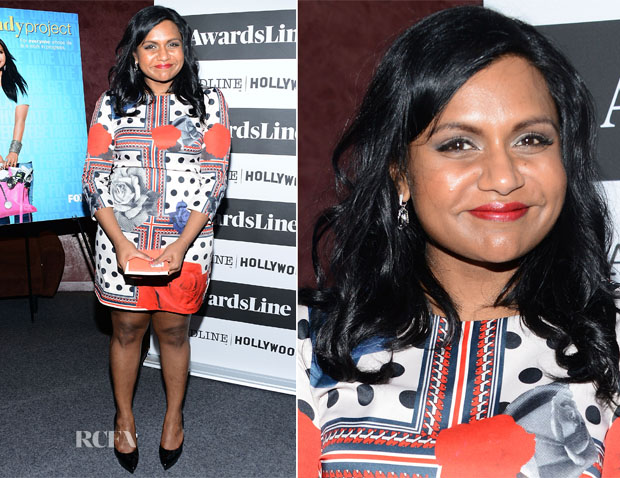 Mindy Kaling In Emma Cook - Awardsline Deadline Screening Of 'The Mindy Project'