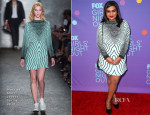 Mindy Kaling In Marc by Marc Jacobs  - Fox's 'Girls Night Out'