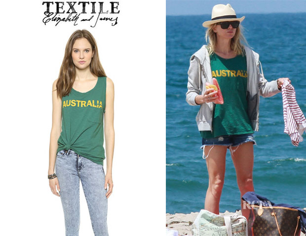 Naomi Watts' Textile Elizabeth and James 'Australia Dean' Tank