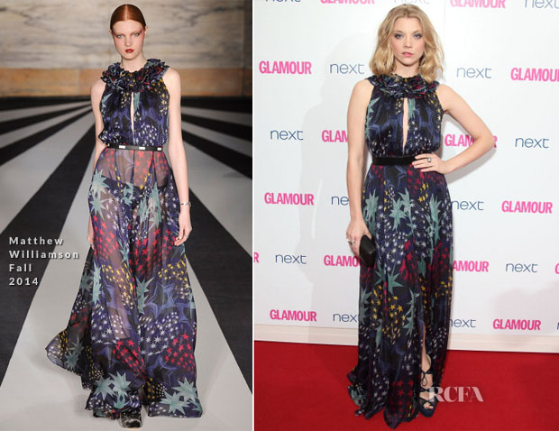 Natalie Dormer In Matthew Williamson - Glamour Women Of The Year Awards