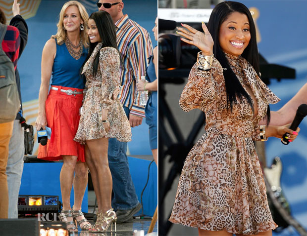 Nicki Minaj In Patricia Bonaldi - Good Morning America