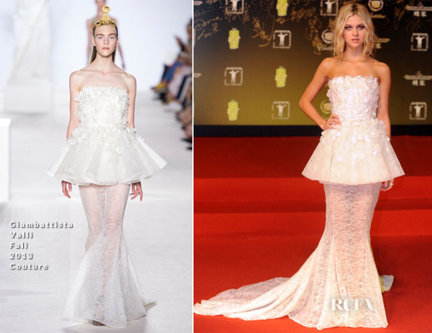 Nicola Peltz In Giambattista Valli Couture - 17th Shanghai International Film Festival Award & Closing Cermony