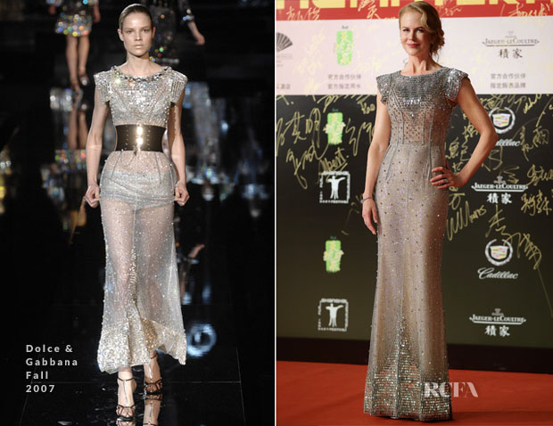 Nicole Kidman In Dolce & Gabbana - 17th Shanghai International Film Festival