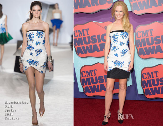 Nicole Kidman In Giambattista Valli Couture - 2014 CMT Music Awards