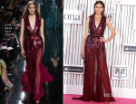 Nieves Alvarez In Elie Saab - Yo Dona Awards