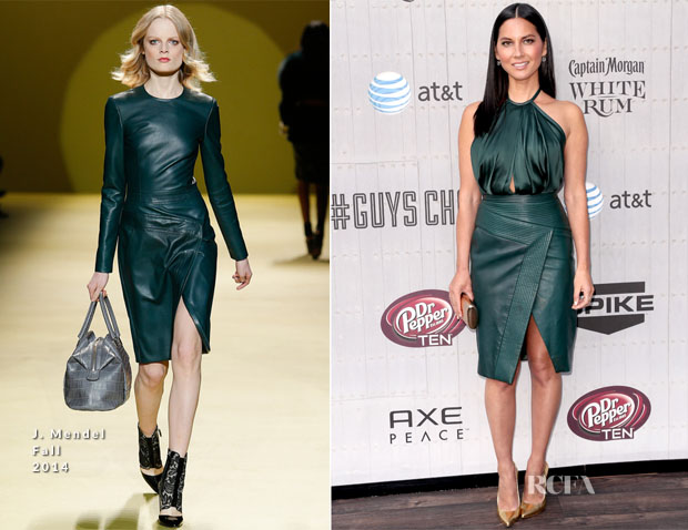 Olivia Munn In J Mendel - Spike TV's 'Guys Choice 2014'
