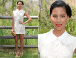 Olivia Munn In Lover - Veuve Clicquot Polo Classic 2014