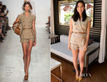 Olivia Munn In Michael Kors - Los Angeles Film Festival Coffee Talks: Actors