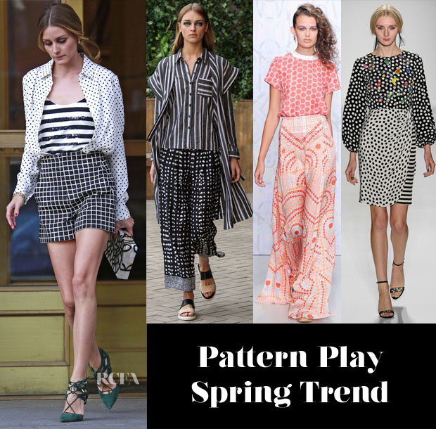 Olivia Palermo's Pattern Play Inspiration