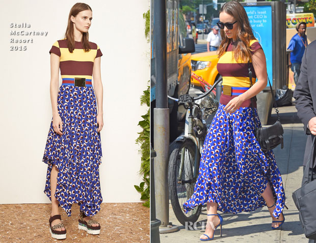 Olivia Wilde In Stella McCartney - Out In New York