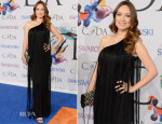 Olivia Wilde In Vintage Mollie Parnis - 2014 CFDA Fashion Awards
