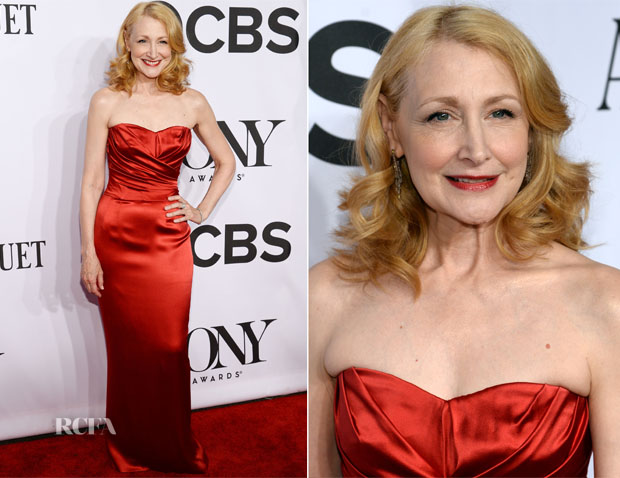 Patricia Clarkson In Dolce & Gabbana - 2014 Tony Awards