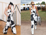 Rita Ora In Adam Selman - Glastonbury Festival