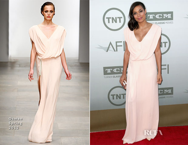Rosario Dawson In Osman - AFI Life Achievement Award A Tribute To Jane Fonda