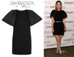 Rose Byrne's Giambattista Valli Bow-Embellished Mini Dress