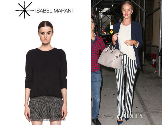 Rosie Huntington-Whiteley's Isabel Marant 'Isaac' Knit Sweater