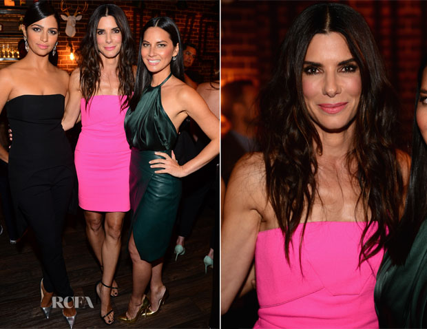 Sandra Bullock In Roland Mouret - Spike TV's 'Guys Choice 2014'