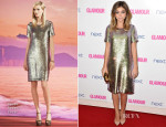 Sarah Hyland In Gucci - Glamour Women Of The Year Awards