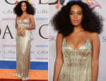 Solange Knowles In Calvin Klein Collection - 2014 CFDA Fashion Awards
