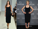 Taylor Schilling In Osman - Speedmaster Dark Side Of The Moon Launch