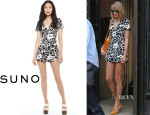 Taylor Swift's Suno Deep V Romper