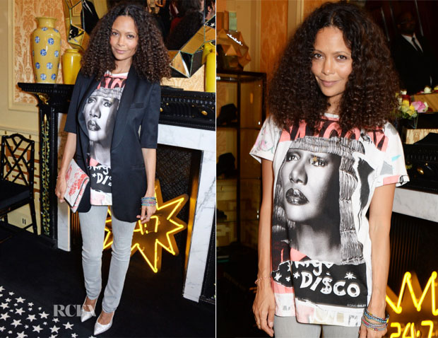 Thandie Newton In David Bailey - Solange Azagury-Partridge Menswear Presentation