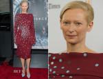 Tilda Swinton In Schiaparelli Couture - 'Snowpiercer' LA Premiere