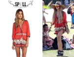 Vanessa Hudgens' Spell & The Gypsy Collective 'Desert Wanderer' Playsuit