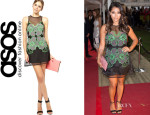 Vanessa White's Alice McCall 'Queen of Bermuda' Dress