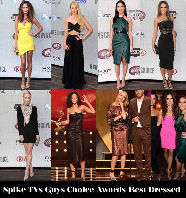 Who Was Your Best Dressed At Spike TV's 'Guys Choice Awards'