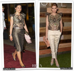 Who Wore H&M Conscious Collection Better...Crown Princess Victoria of Sweden or Kate Mara?