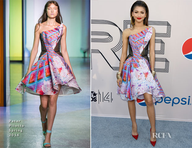 Zendaya Coleman In Peter Pilotto - Pre-BET Awards Dinner