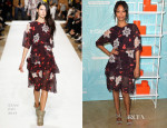 Zoe Saldana In Chloé - Step Up 11th Annual Inspiration Awards