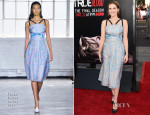 Zoey Deutch In Tanya Taylor - 'True Blood' Season 7 Premiere