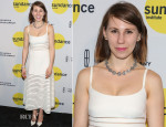 Zosia Mamet In Cynthia Rowley - Sundance Institute Vanguard Leadership Awards