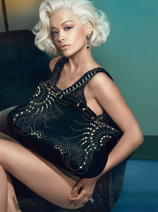 Rita Ora for Roberto Cavalli Fall 2014