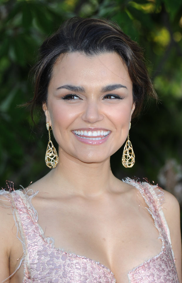 Samantha Barks in Lanvin