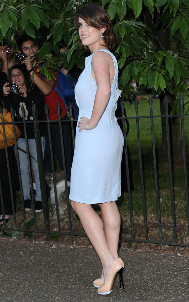 Princess Eugenie in Burberry London