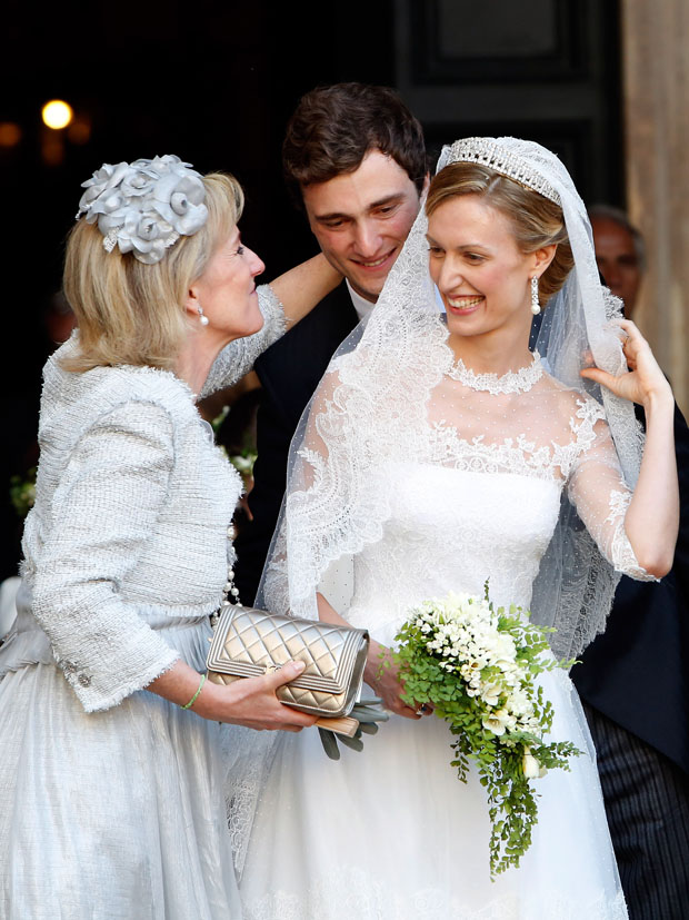 Princess Elisabetta Maria in Valentino Couture
