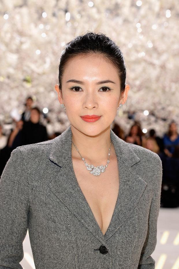 Zhang Ziyi  in Dior