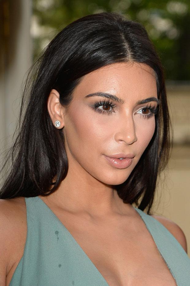 Kim Kardashian in Valentino