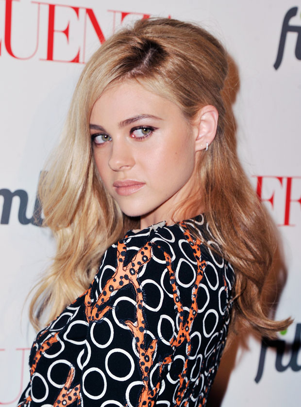 Nicola Peltz in Louis Vuitton