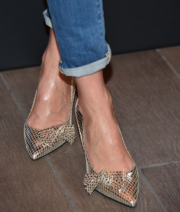 Cameron Diaz' Isabel Marant shoes
