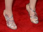 Ellie Kemper's Jerome C. Rousseau sandals