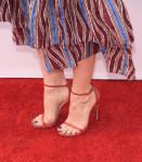 Judy Greer's Stuart Weitzman sandals