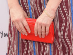 Judy Greer's Jimmy Choo Candy clutch