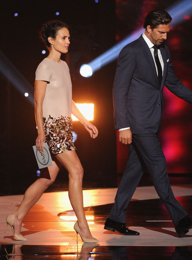 Jordana Brewster in Dsquared²