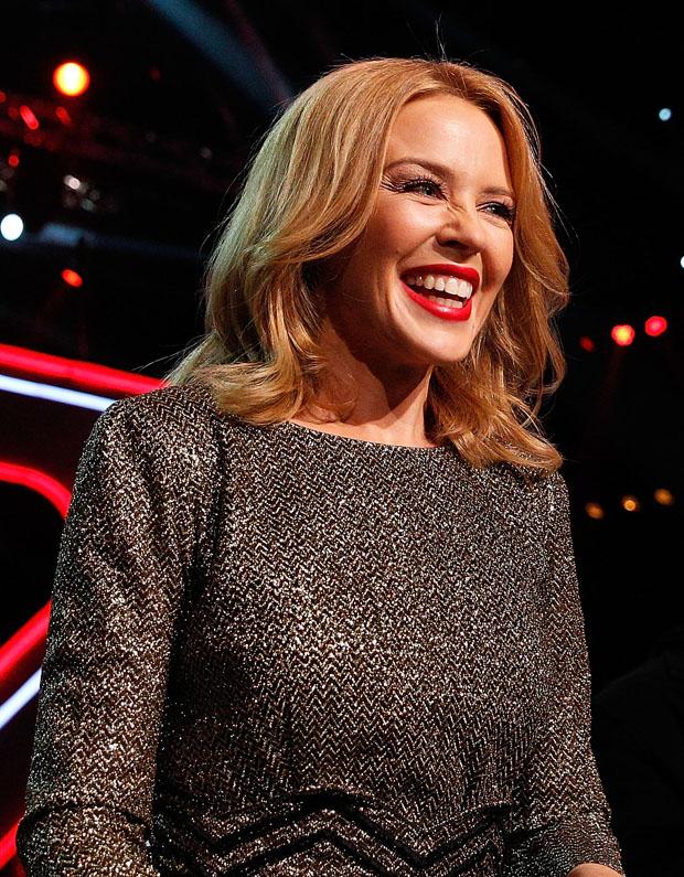 Kylie Minogue in Blumarine